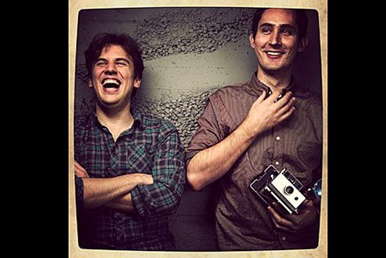 Founders of Instagram  Mike Krieger (@MikeyK) and Kevin Systrom (@KEVIN)