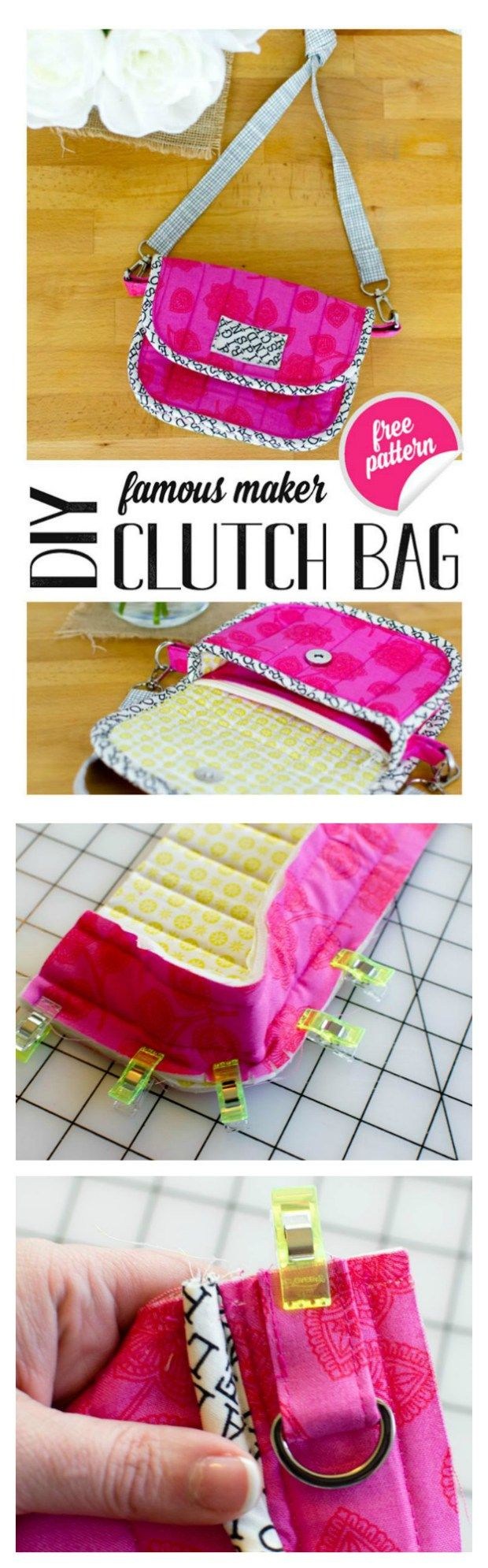 best Costura creativa images on Pinterest Cloth bags Sewing