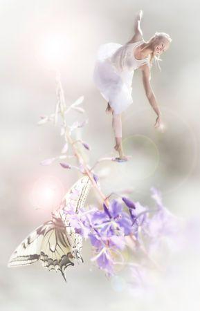 Fairy Dancer Minna Somero, Photography by Janne Kommonen.
