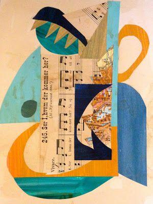 Collage - Et forrygende kursus med Karin Olesen