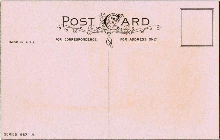 Free Printable Vintage Postcard via KnickofTime.net