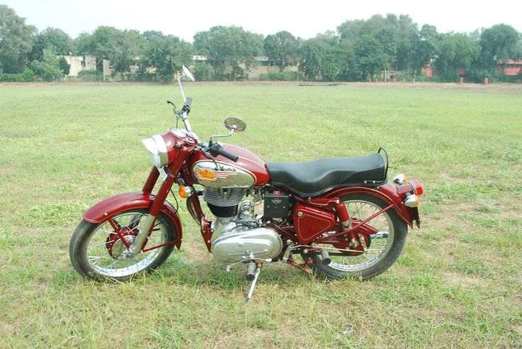 Vintage Roayl Enfield 350cc with 5 Speed Gear www.jeetmotor.com
