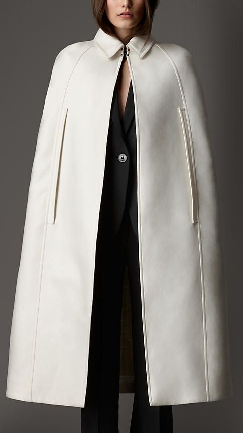 Burberry London Cotton Bell Cape