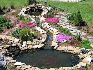 Pond Liner Blog: Get Inspired By Beautiful Garden Pond Pictures