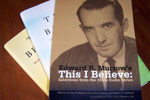 this i believe essay edward r murrow