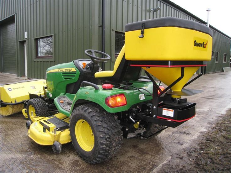 John Deere Spreaders Lawn Tractor : Best ideas about compact tractor attachments on