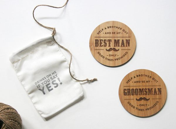 Wedding Gift Engraving Etiquette : Will you be my groomsman ideas: 10 ways to pop the question