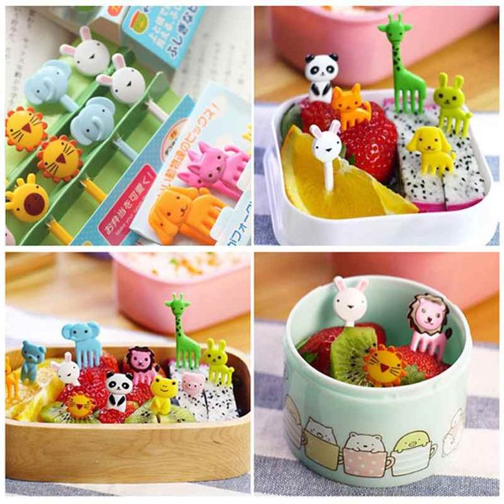 Cheap decorative food items, Buy Quality food batch directly from China food printer Suppliers: 100% brand new and high quality Cartoon Animal Food Forks Fruit PicksPerfect for fruit, pastries, desserts, snacks, easy