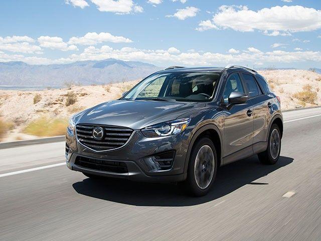 Compact SUV Comparison: 2016 Mazda CX-5 - Kelley Blue Book