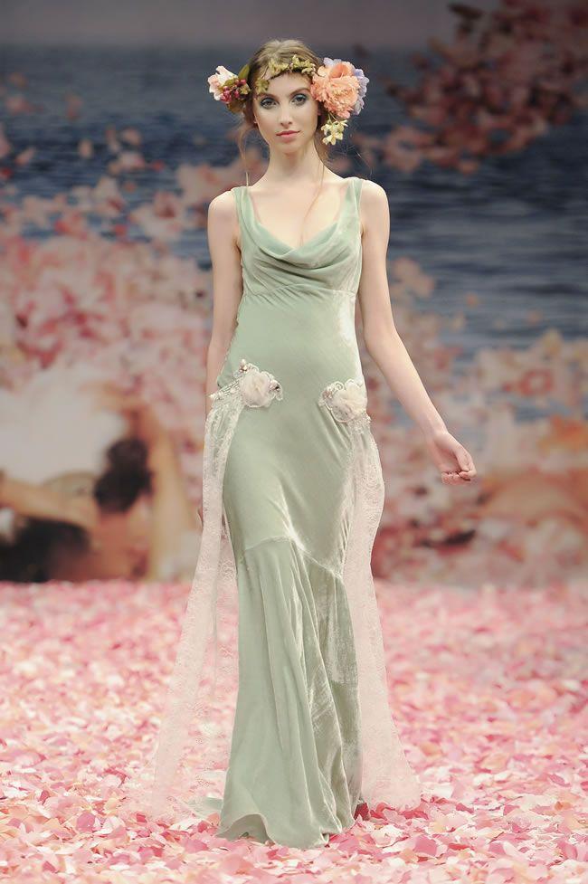 Claire Pettibone Hippie Wedding Dresses And Hippie