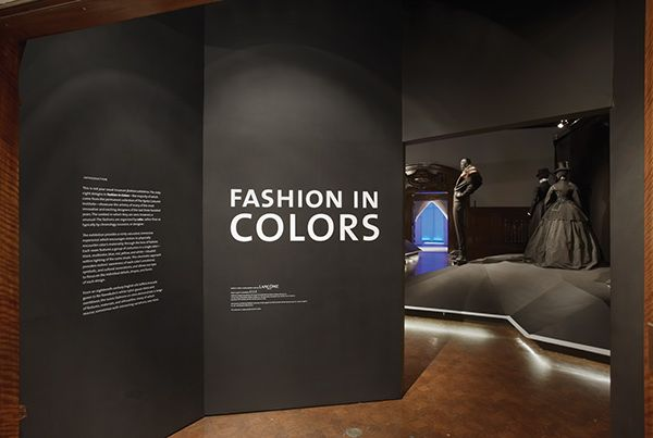 Cooper-Hewitt. Fashion in Colors. Exhibit Design on Behance