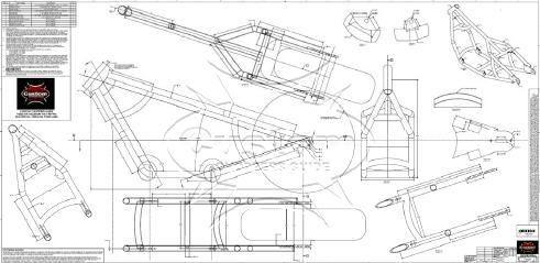 rigid chopper frame