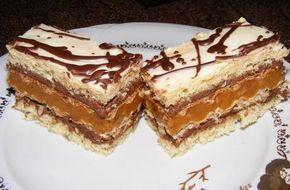 Prăjitură RALUCA cu foi de napolitane.