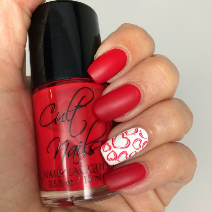 Cult Nails Blog - Valentine's Day Mani