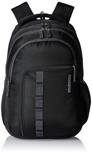 #9: American Tourister Comet Black Laptop Backpack (Comet 03_8901836135312)