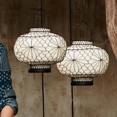 lanterns: Decor, Lamps, Cafe Chinese Interiors Design, Design Ideas, Rustic Home Offices, Home Offices Design, Chinese Paper Lanterns, White Lanterns, Design Offices