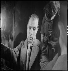 Portrait déformé de Georges Martin Bovis Marcel   1904-1997  photographe