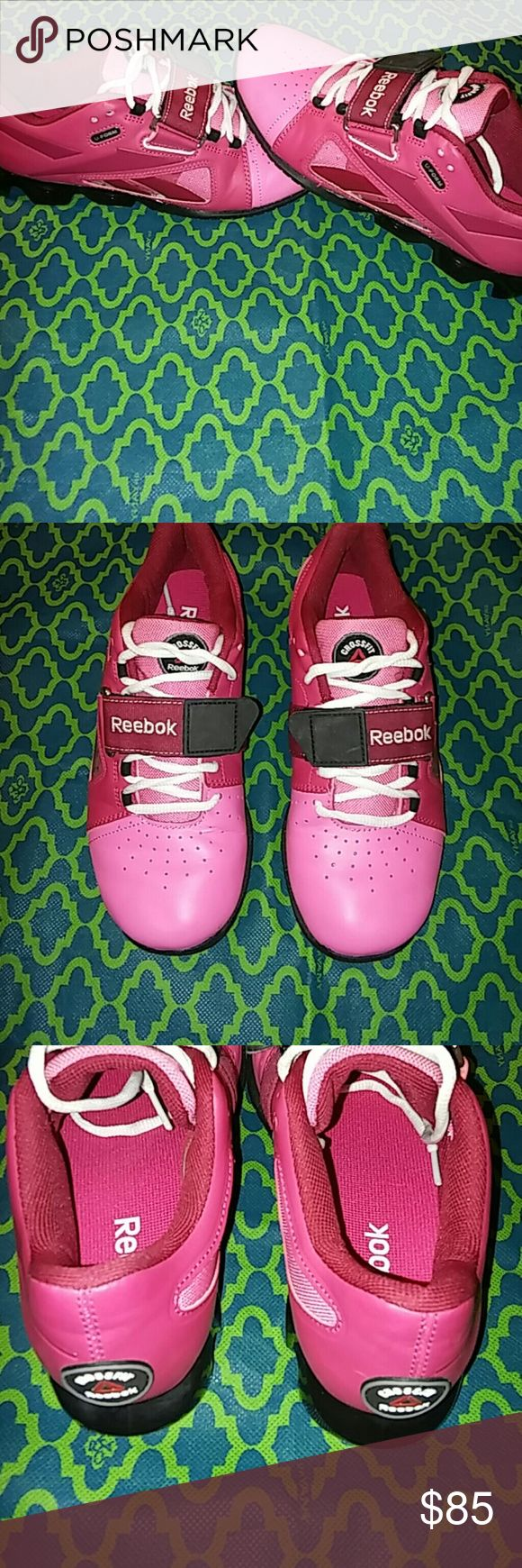 Reebok Shoes Gorgeous Reebok Crossfit Shoes, Leather and man made material. Reebok  Shoes Athletic