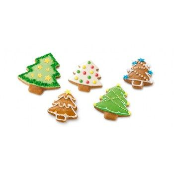 Corta Massas Dupla Face Árvore Natal