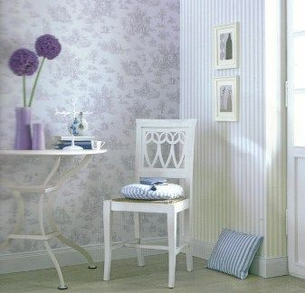 Rasch Petite Fleur (295-107). Roomset shown in same or different colourway.