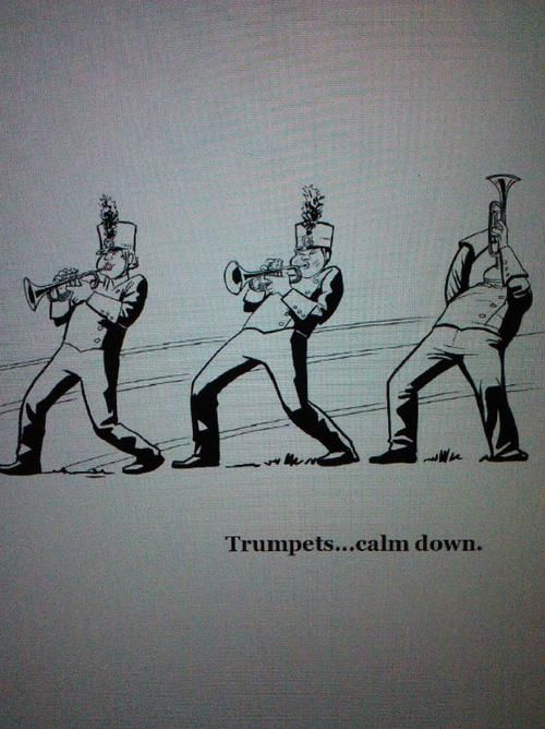 "the13thchair:  From ""The Marching Band Nerds Handbook""www.the13thchair.com Thanks for posting!"