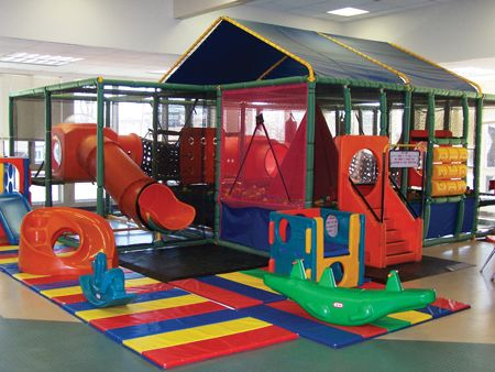 Your children will love the Treehouse on the upper level of the Jewett Park Community Center. The kids will enjoy the eight foot tube slide, mountain climb, spring walk, web crawl and double cush-n-cube bags, and more. For children who are at least three years old and less than 4-feet tall.