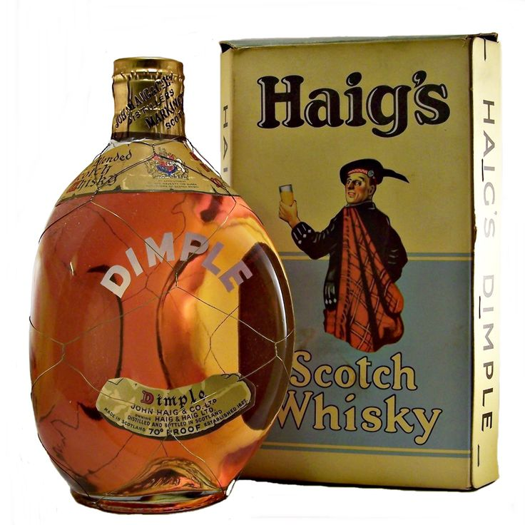 Early Dimple Scotch Whisky 1950's John Haig & Co Ltd available to buy online at specialist whisky shop whiskys.co.uk Stamford Bridge York