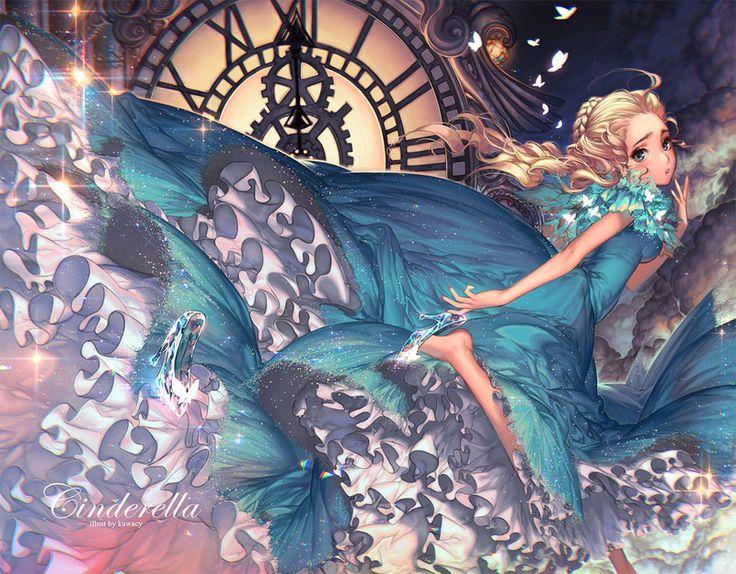 GoBoiano - Kawacy is a Japanese Artist Who Makes Fantastical Fanart and Comics