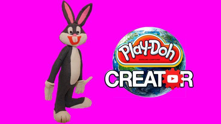 How to make Playdoh Bugs Bunny - Багз Банни из Playdoh DIY