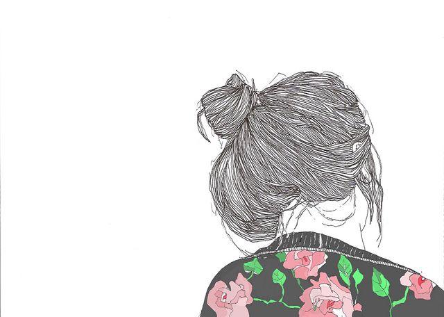 flowers & hair