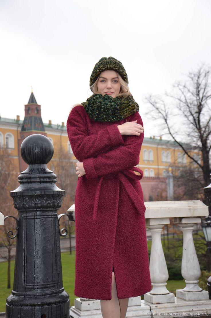 Купить Пальто зимнее женское в интернет магазине на Ярмарке Мастеров