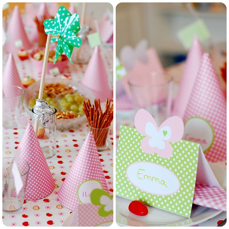 Party Printables Freebie / Schmetterlings-Party/ Butterfly-Party/ Kindergeburtstag/ Birthday