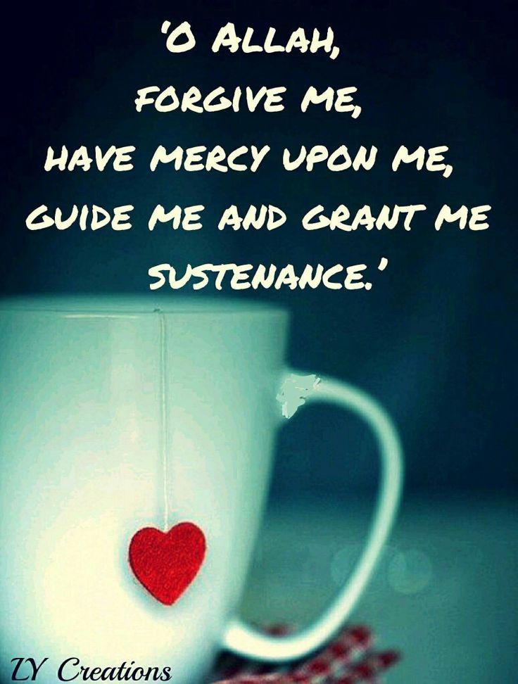O Allah forgive me