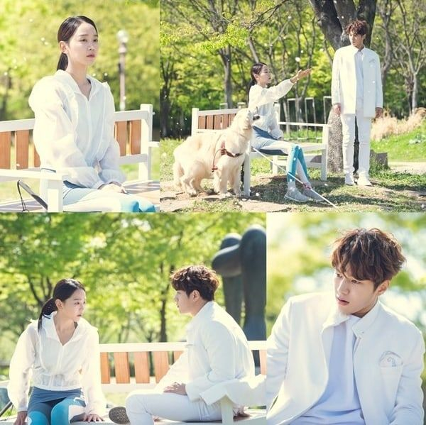 """INFINITE's L And Shin Hye Sun Share Picturesque 1st Meeting In """"Angel's  Last Mission: Love"""" 