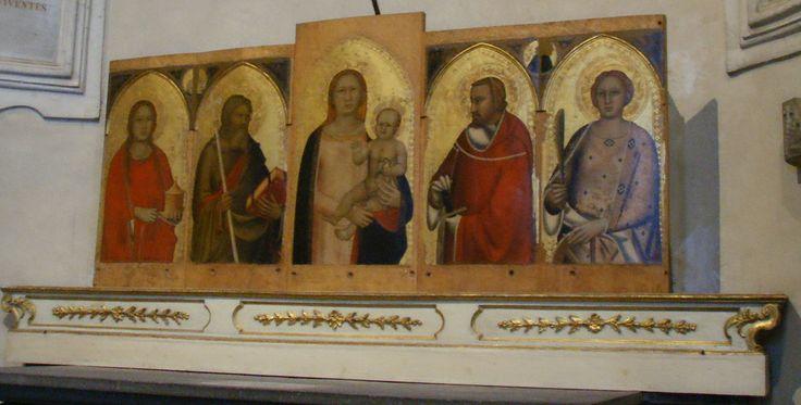Santo Spirito, cappella vettori, maso di banco polittico 01 - Category:Santo Spirito (Florence) - Interior - Wikimedia Commons