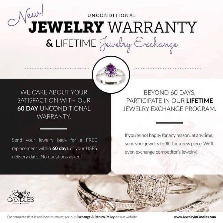 Jic nation warranty jewelry exchange jewelry candles