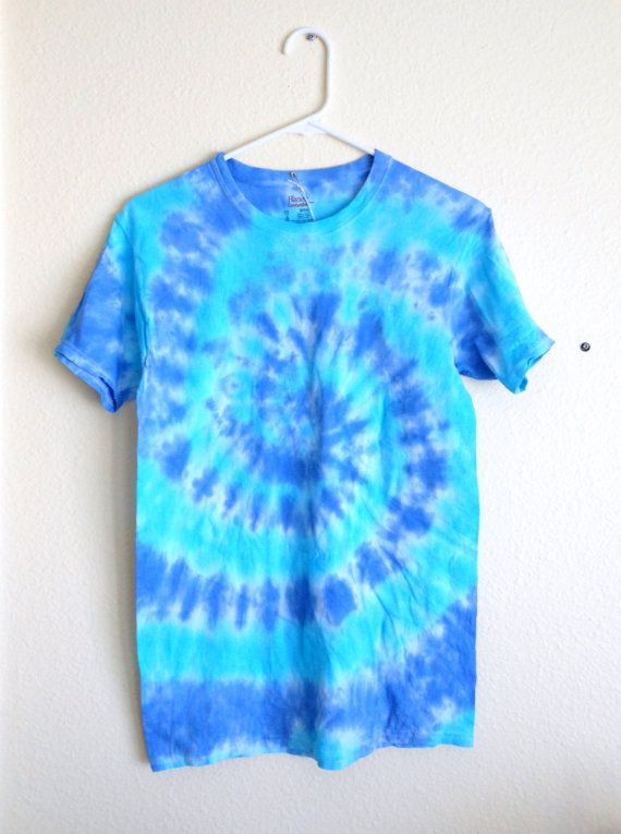 Tie Dye T  Shirt Size Small in Royal Blue & by everythingflorida, $10.00