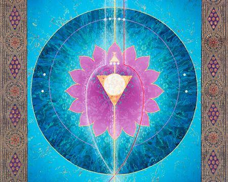 `Sacred Chakra Wheels: 5th Chakra: Visuddha Chakra´