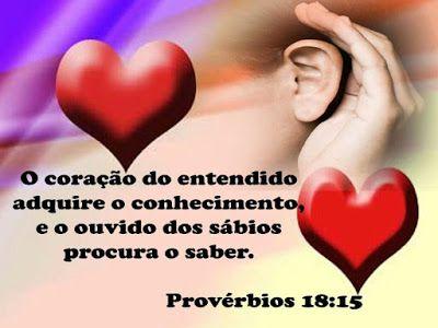 Palavra e Ação : Provérbios 18  Comentário Pr Heber Toth Armí