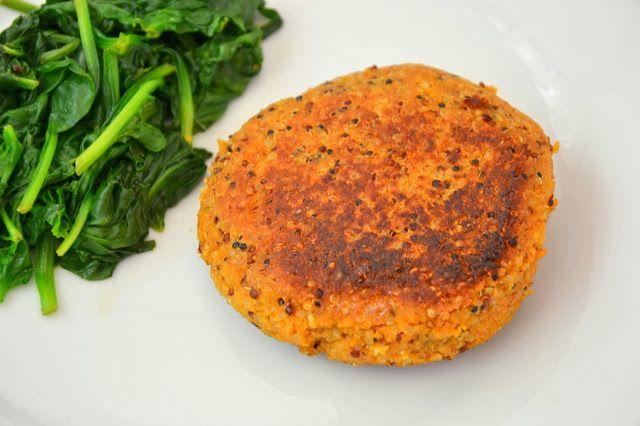 Hambúrgueres de quinoa