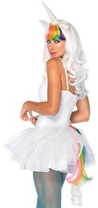 Two Piece Unicorn Kit - Costume Wigs