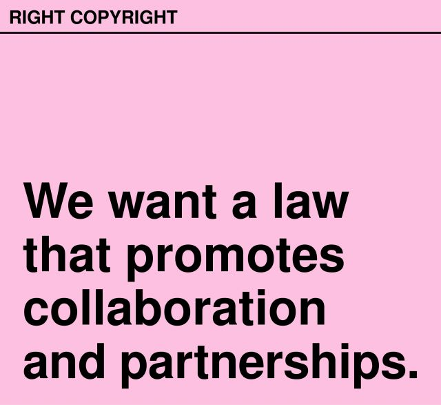 RIGHTCOPYRIGHT is a campaign to fix copyright law for education.
