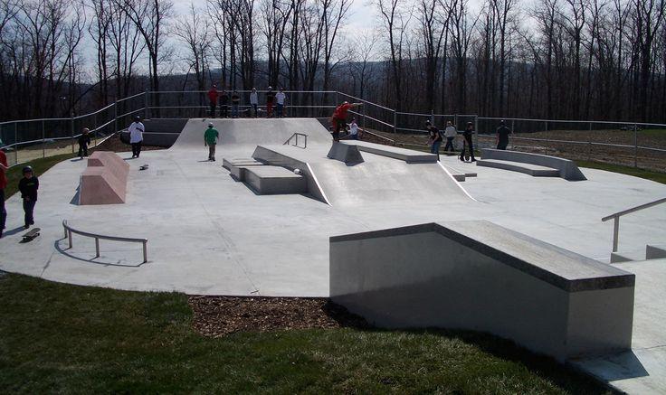 Skatepark DUNLAP FAMILY Spohn Ranch Skateparks
