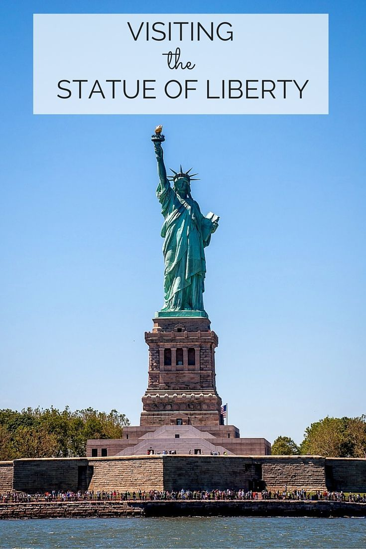 A visit to the Statue of Liberty and Ellis Island makes for a great day in New York.