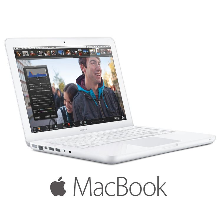 "Image of Apple MacBook Core 2 Duo P8600 MC516LLA 2.4GHz 2GB 250GB DVD±RW 13.3"" Notebook OS X w/Cam"