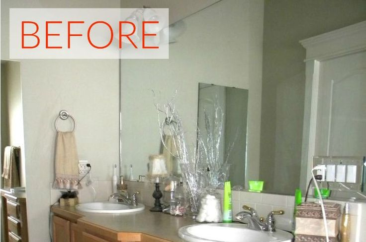 10 Stunning Ways to Transform Your Bathroom Mirror Without Removing It