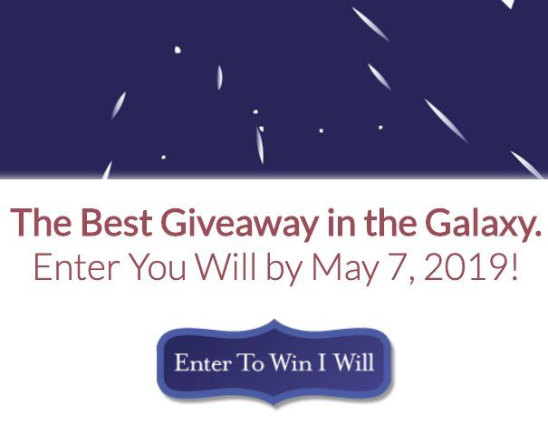 Best Giveaway in the Galaxy! Enter to win the $2,100 00