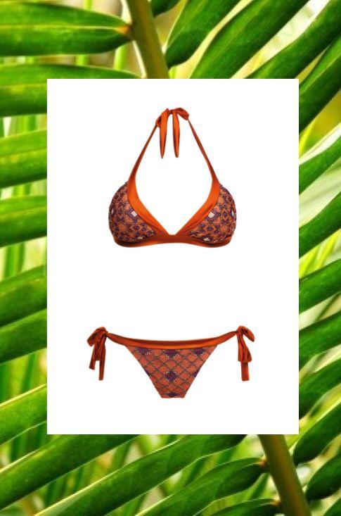 MITOS Starlight bikini in Rusty Orange  #mitoswimwear #bikini #summer #sea #beach #mitos #moroccan