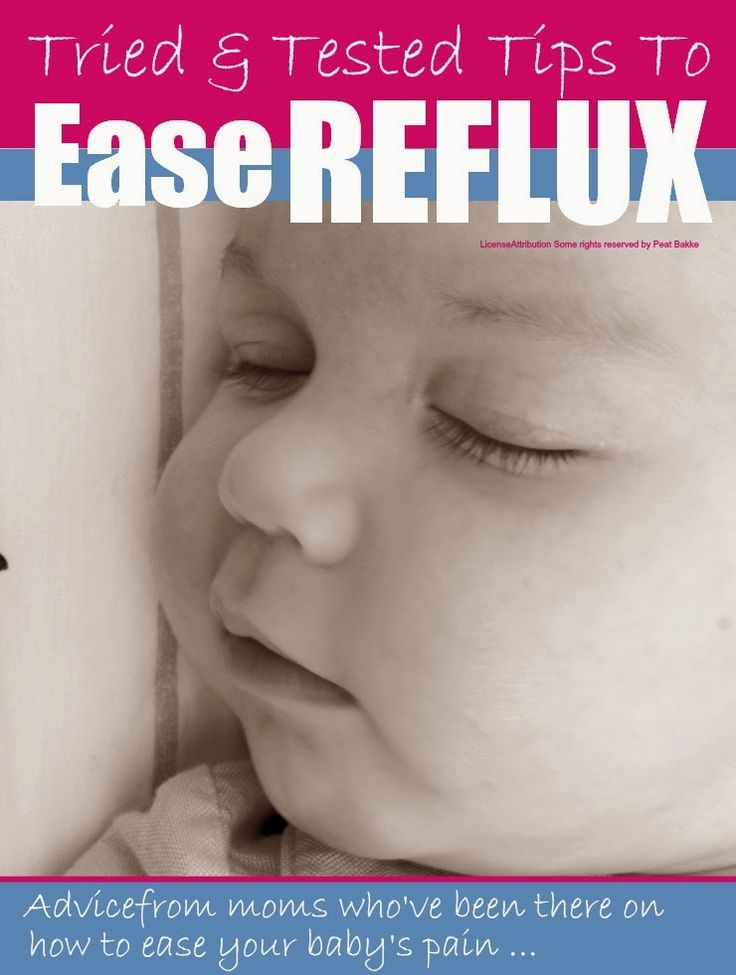 Tried and tested tips to ease baby #reflux from moms who went through it @Mums make lists ...