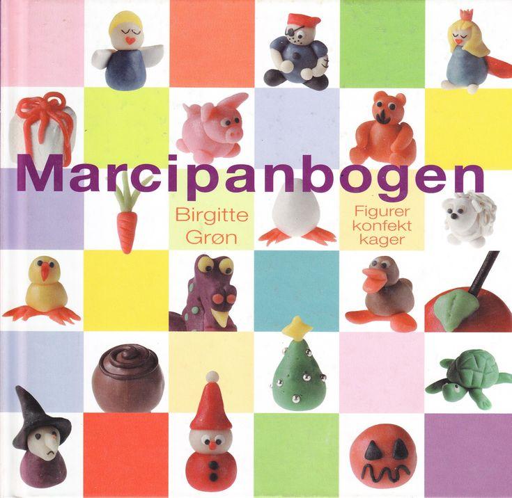 """Marcipanbogen - Figurer - konfekt - kager"" av Birgitte Grøn"